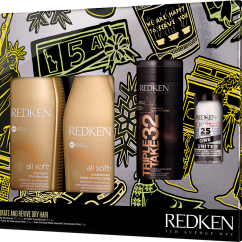 Redken 2018 Holiday Kit Gift Set All Soft with Mini