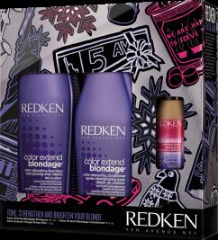 Redken 2018 Holiday Kit Gift Set Blondage